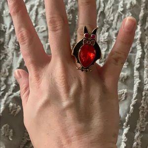 Betsey Johnson Bat Ring
